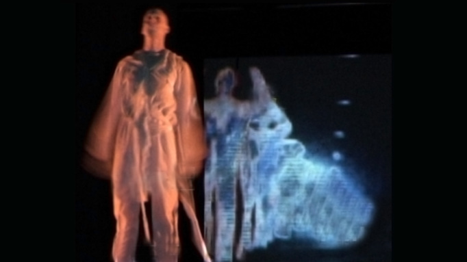 Shadow Dance | Interactive Video Projection | Dan Farberoff